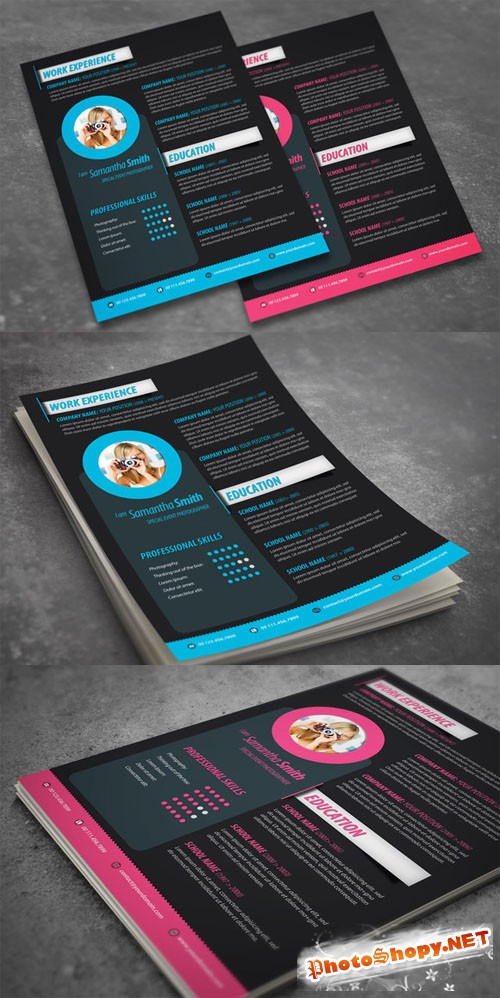 Creativemarket Modern Resume Design 50536