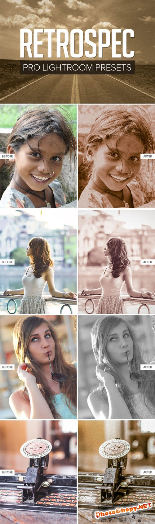 Creativemarket Retro Lightroom Presets 147947