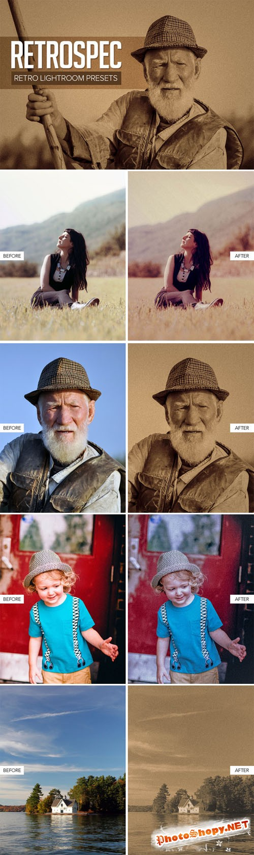 Creativemarket Retro Lightroom Presets 147946