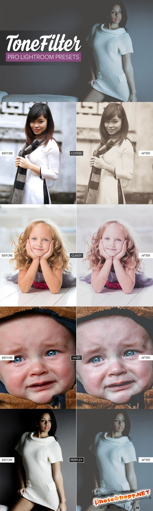 Creativemarket Matte Lightroom Presets 145384