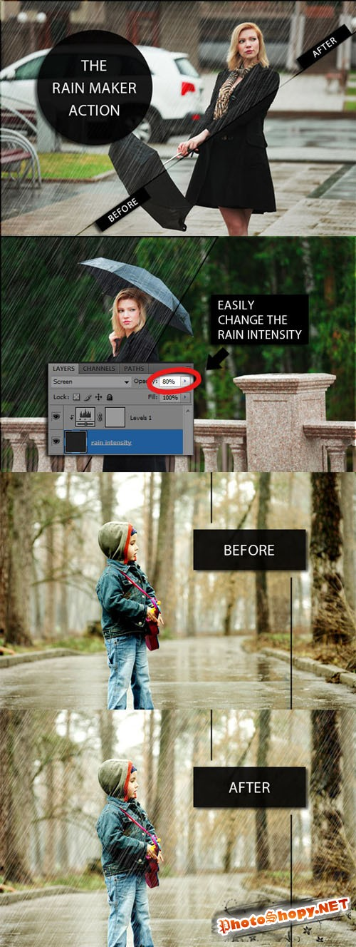 Creativemarket The Rain Maker Action 46271