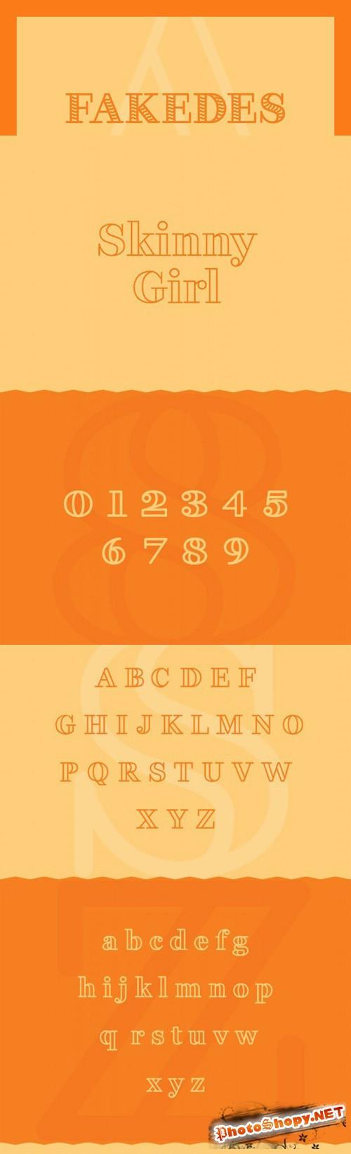 Font - Fakedes Serif