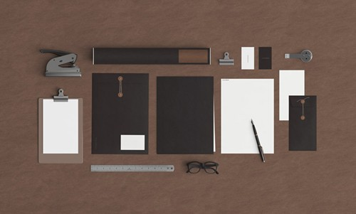 PSD Scene - Mock Up Stationery 58