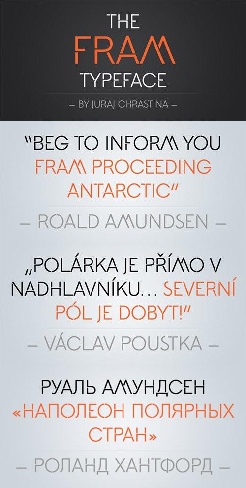 Fram Font