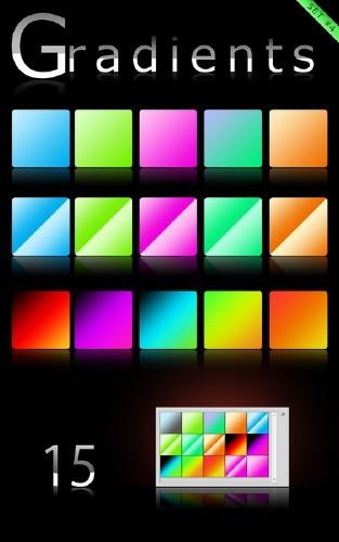 Градиенты для Photoshop 6000  градиенов