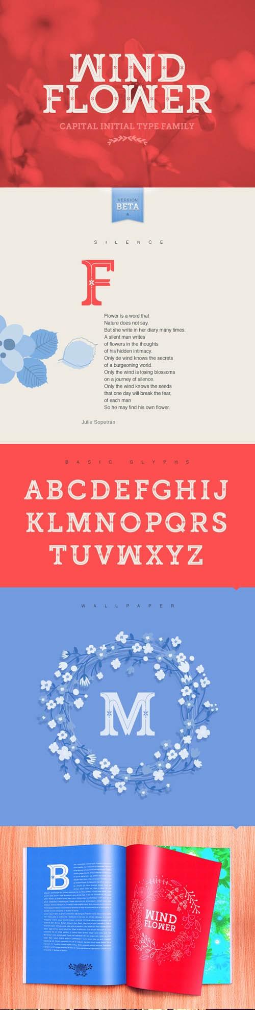 Windflower Font TTF