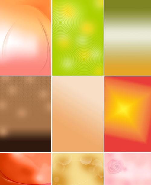 Коллекция абстрактных минималистических фонов