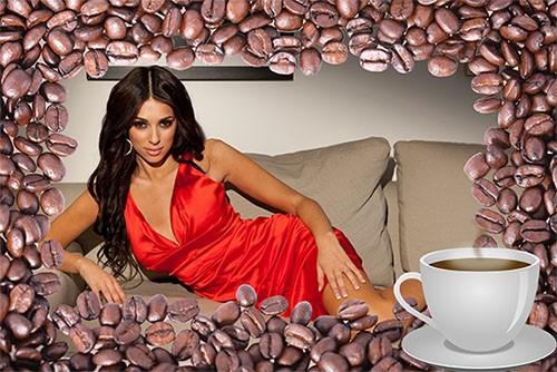 Фоторамка psd - Чашка кофею