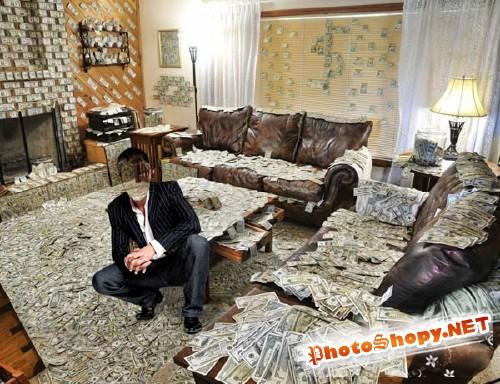 Шаблон для мужчин - Квартира в долларах