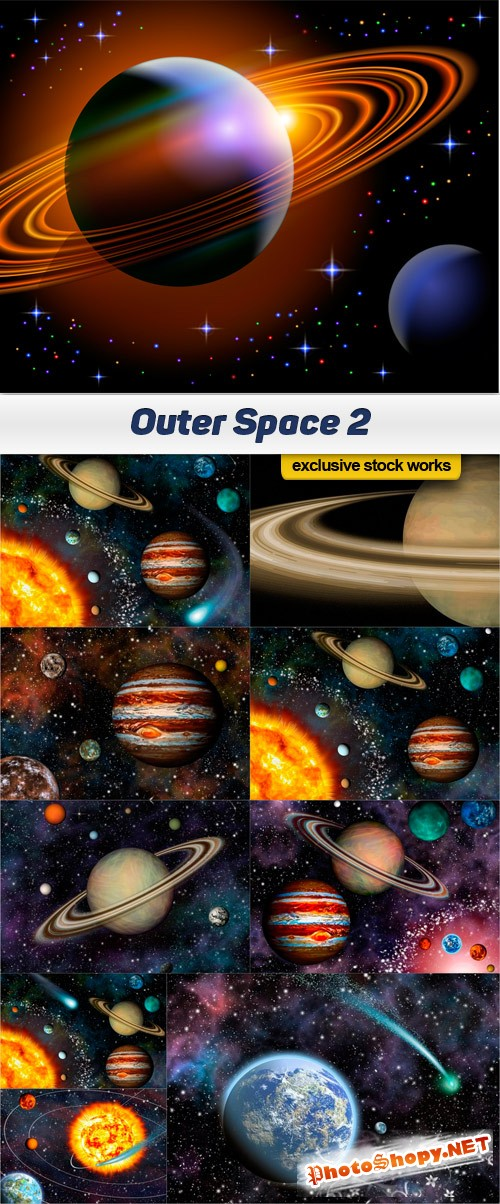 Outer Space 2 - 10 UHQ JPEG