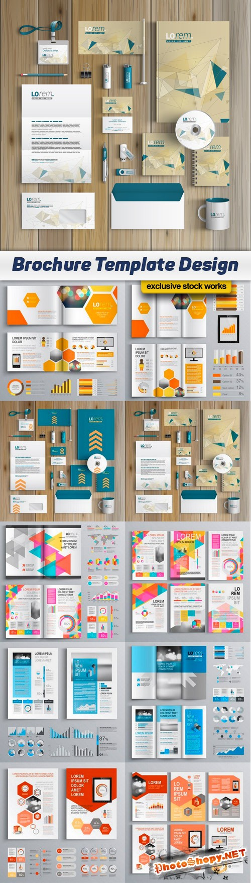Brochure Template Design - 10 EPS