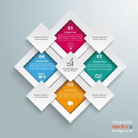 Infographics Design Elements#43 - 25 Vector