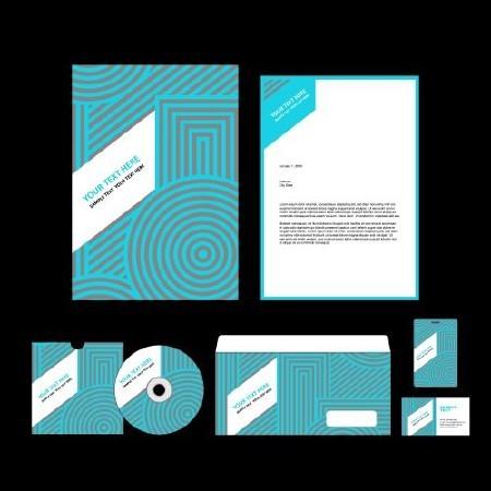 Corporate Template Design #2 - 25 Vector