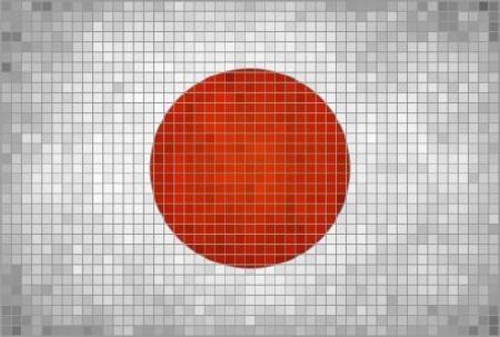 Mosaic Flag - 24 Vector