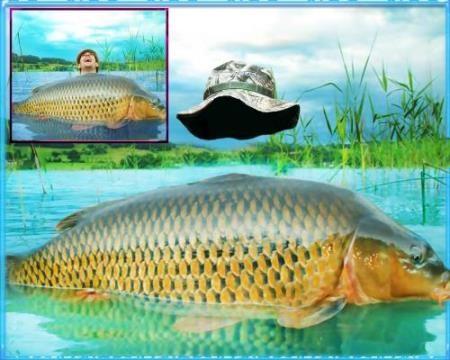 Шаблон мужской - Рыбный бог