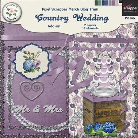 Сельская свадьба - Скрап - коллекция