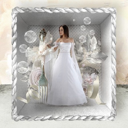 День бракосочетания  - Скрап набор