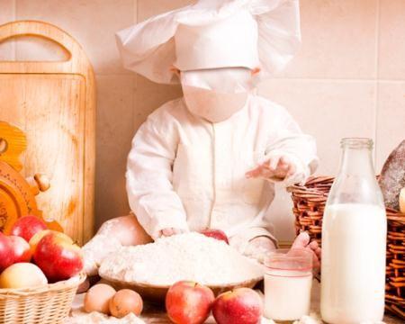 Шаблон для детского сада - Маленький повар