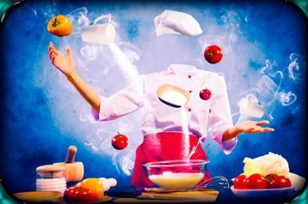 Фртошаблон женский - Волшебство кулинарии