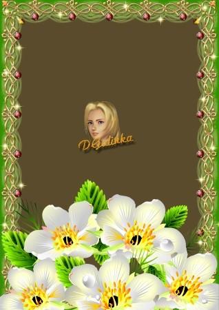 Фоторамка - Букет цветов