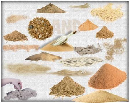 Красивые Png - Кучи песка