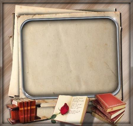Красивая рамочка - Книжная история