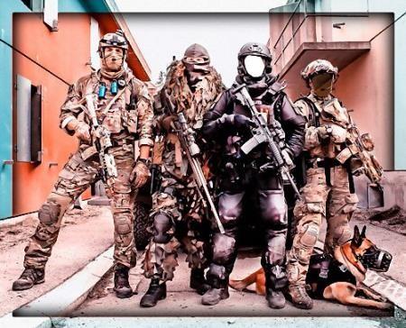Шаблон для двоих - В группе спецназа