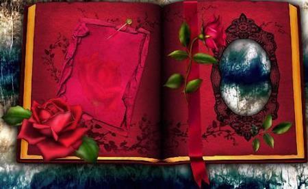 Рамочка - Красный фотоальбом