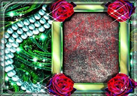 Красивая рамка - Переливы света