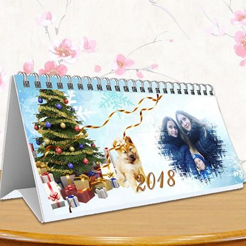 Настольный перекидной календарь на 2018 год - Семья