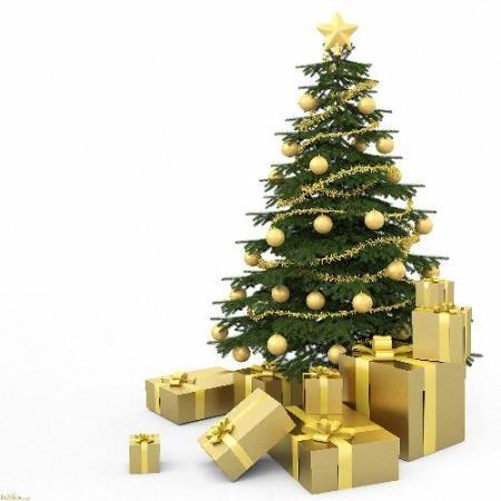 Растровый клипарт - Новогодние елки