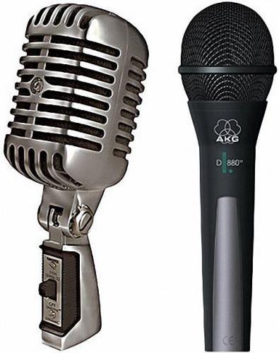 Png для фотошоп - Разные модели микрофонов
