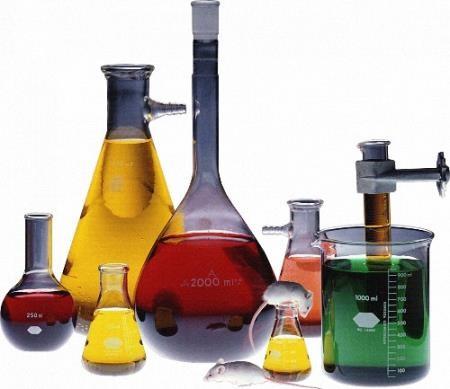 Png для дизайна - Химические колбы и мензурки