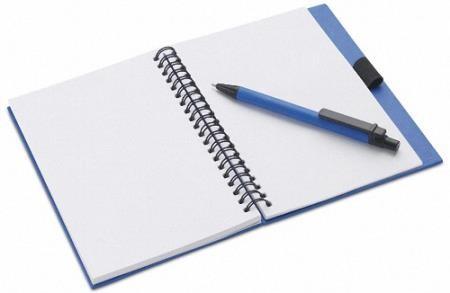 Клипарты на прозрачном фоне - Блокноты и записные книжки