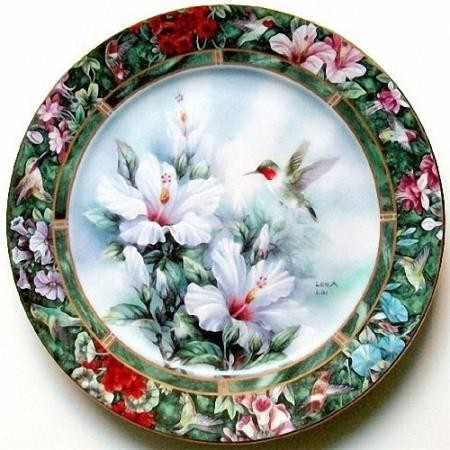 Качественные клипарты на прозрачном фоне - Декоративные и столовые тарелки