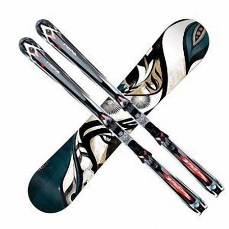 Png для фотошопа на прозрачном фоне - Зимние лыжи и сноуборды