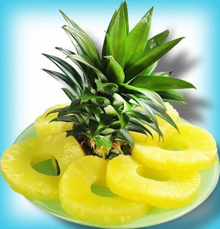 Png картинки - Сочные ананасы