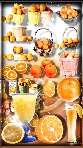 Фотошоп прозрачный - Апельсиновый сборник