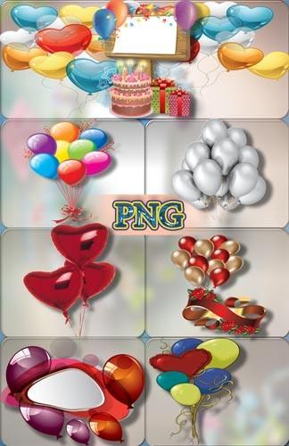 Качественные клипарты - Воздушные шарики