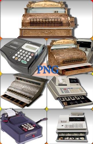 Прозрачные Png - Кассовые аппараты